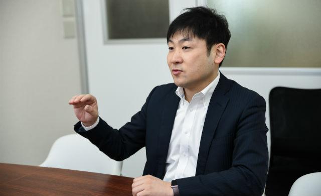 インタビューに答える曽和利光氏