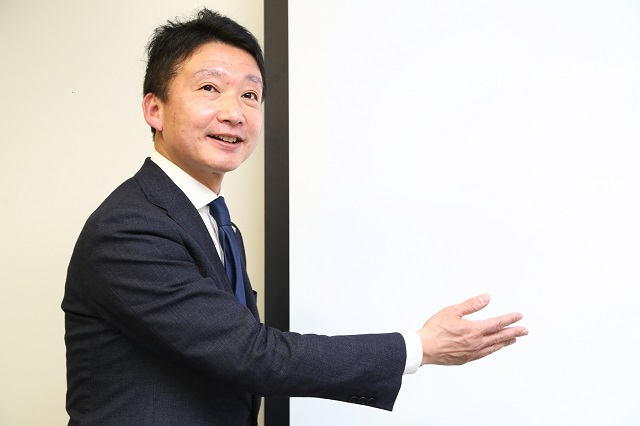 イオン銀行・後藤氏の講演の様子