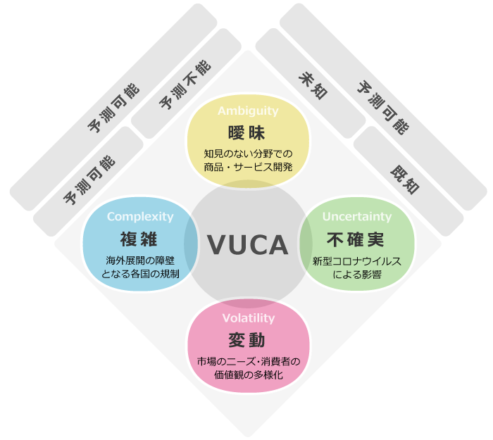 VUCAフレームワーク